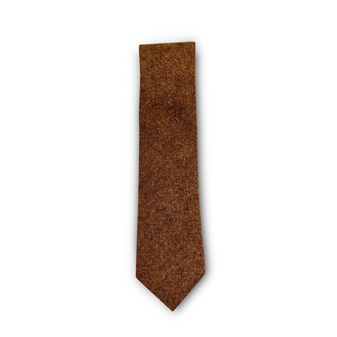 The Burnt Orange Wool Tie