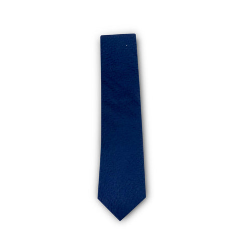 The Blue Seersucker Tie