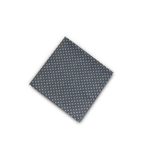 The Chambray Dot Pocket Square