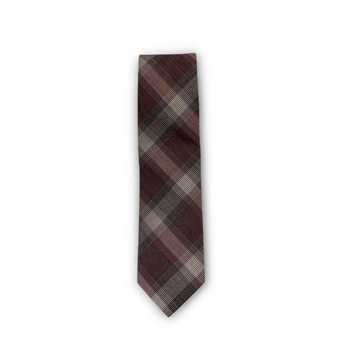 The Red Plaid Tie