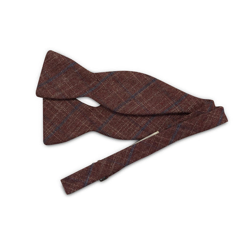 The Heather Burgundy Bow