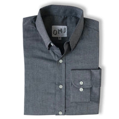 The Grey Brushed Chambray