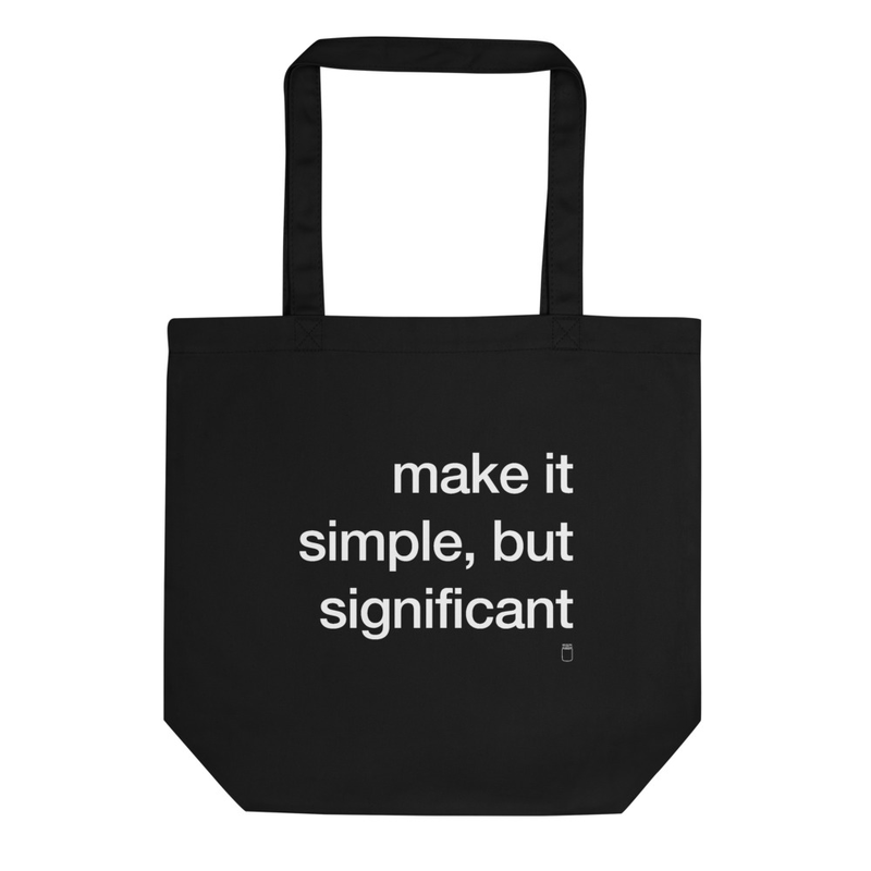Simple but Significant Totes