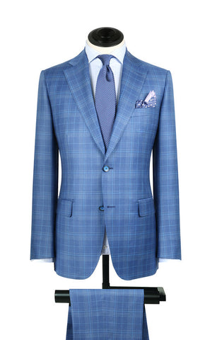 Carolina Blue Plaid Sport Coat