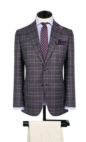 Charcoal Glen Plaid Sport Coat