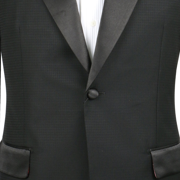 Black Houndstooth Tux