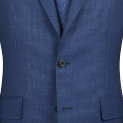Navy Micro Check Sport Coat
