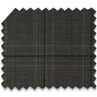Grey & Brown Windowpane