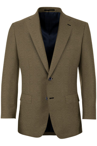 Espresso Brown Flannel Sport Coat