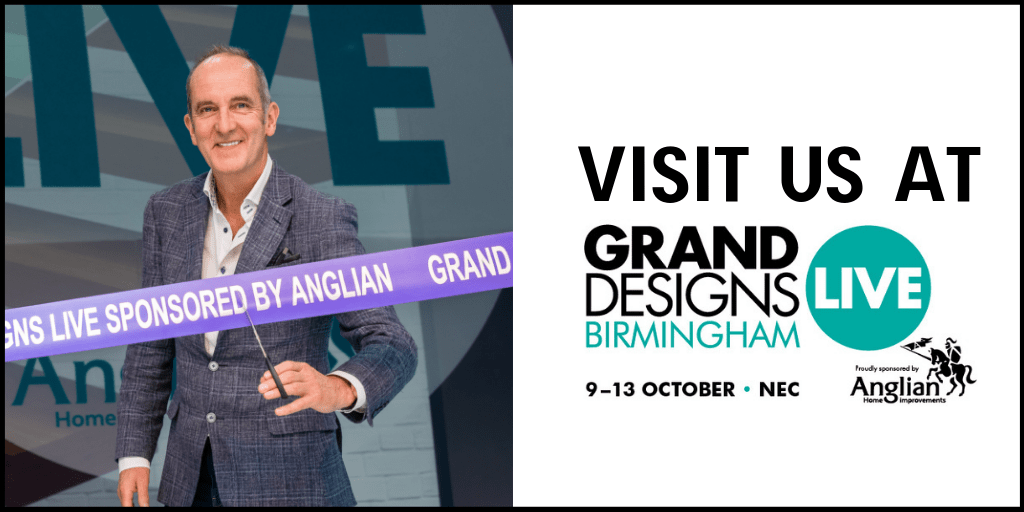 Kevin McCloud opening Grand Designs live at Birmingham