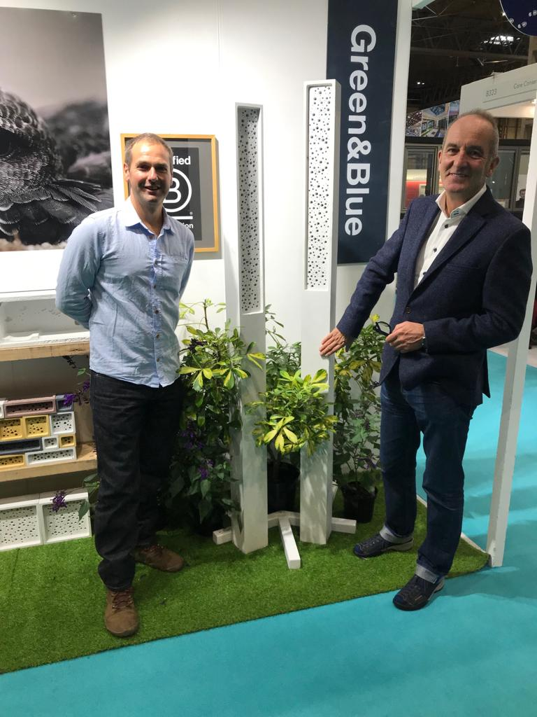 Gavin from Green&Blue with Kevin McCloud