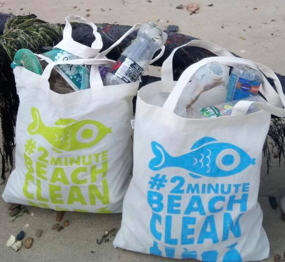 2 minute beach clean keeping beaches cleaner