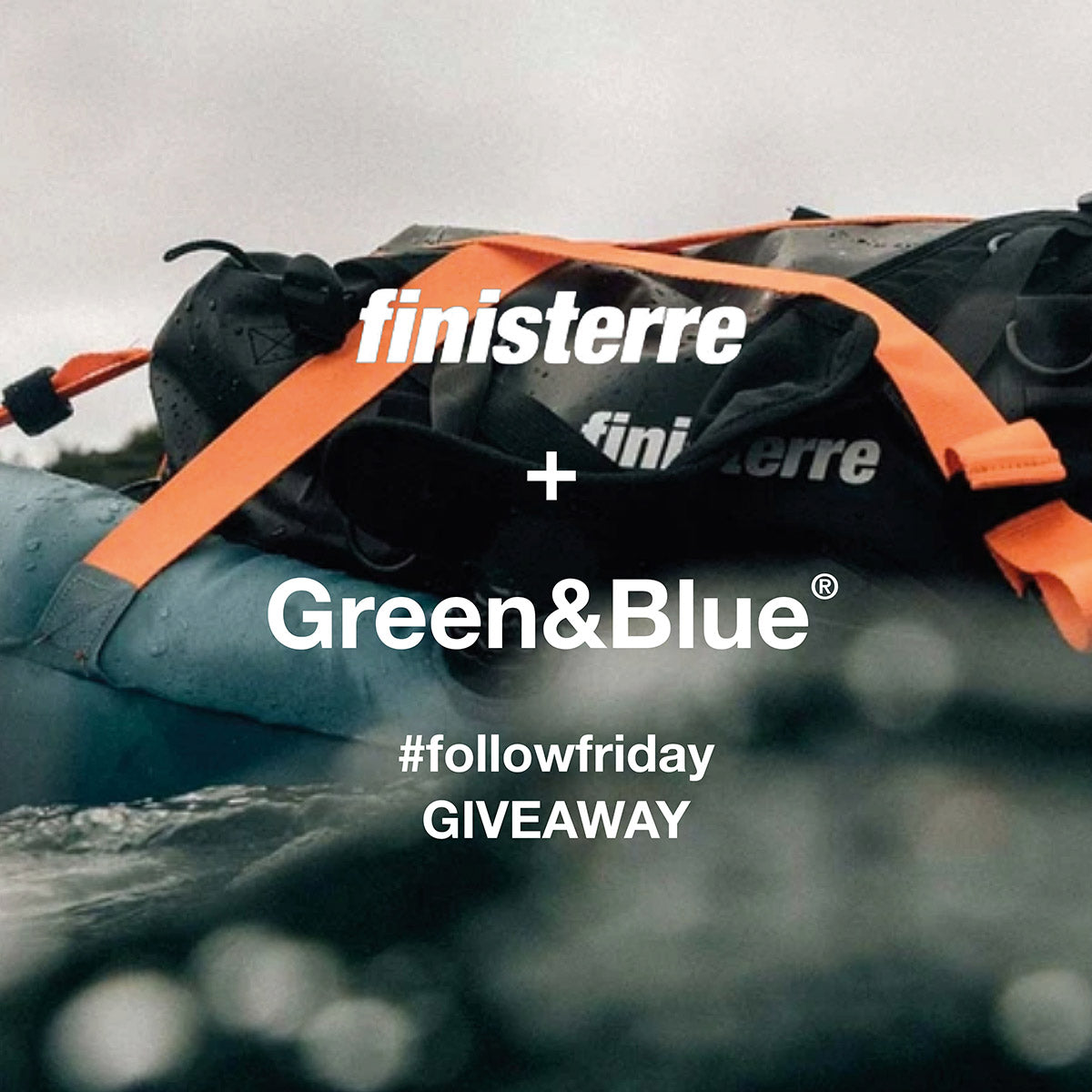 Finisterre and Green&Blue #FollowFriday competition image