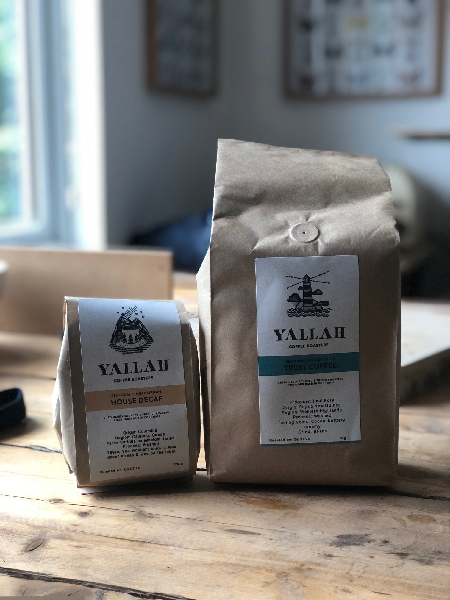 Yallah coffee in Green&Blue studio for Follow Friday competition