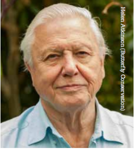 David Attenborough state of nature report