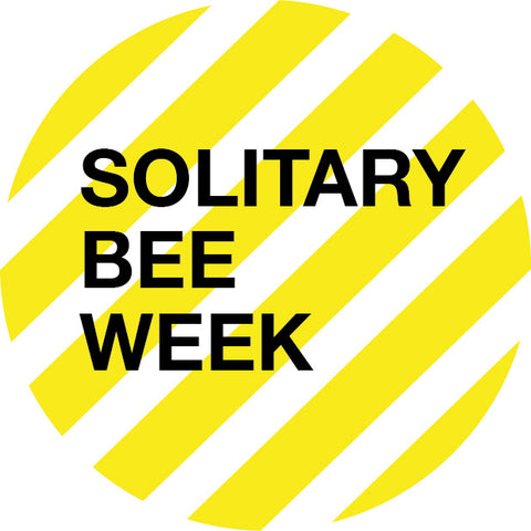 Solitary Bee Week logo