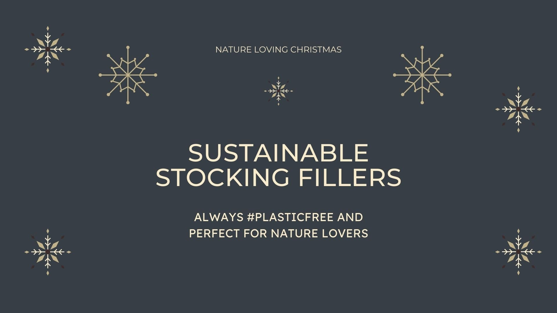 Sustainable stocking fillers christmas 2020