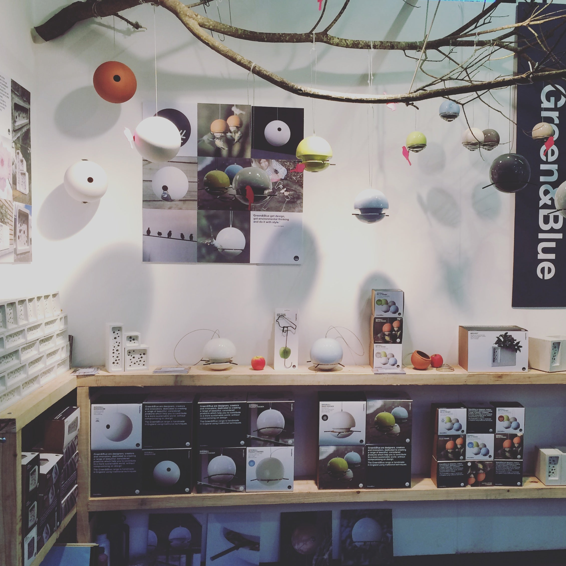 Green&Blue exhibition space at Top Drawer tradeshow