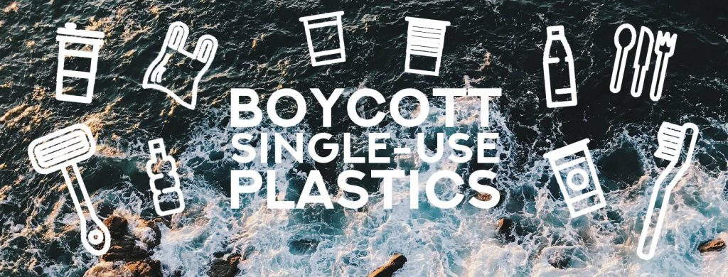 boycott single use plastics