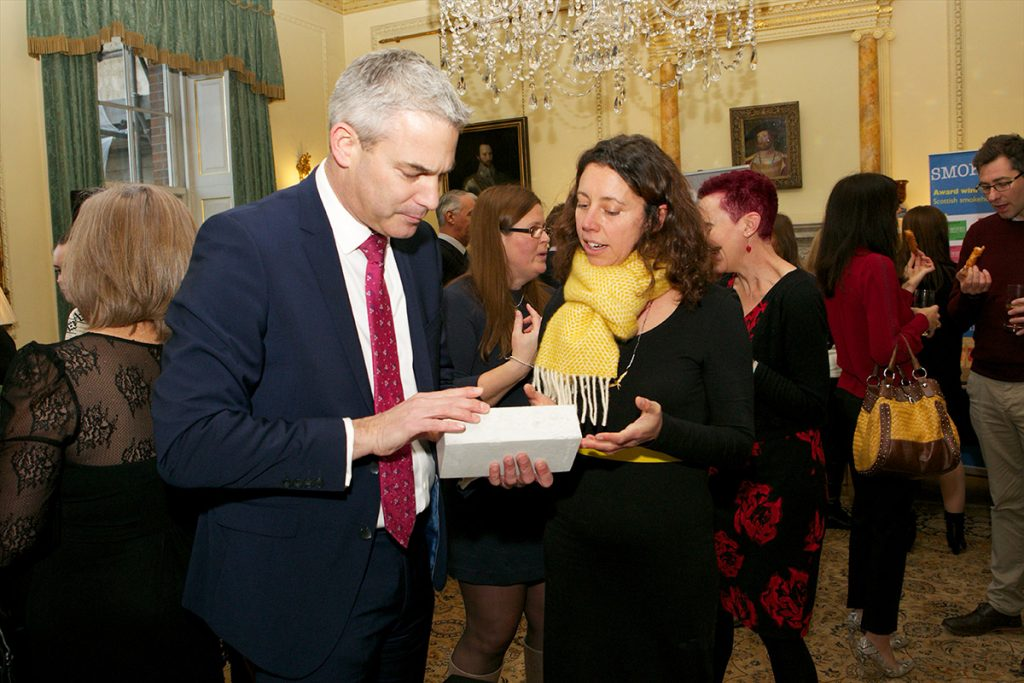faye with stephen barclay mp at number 10