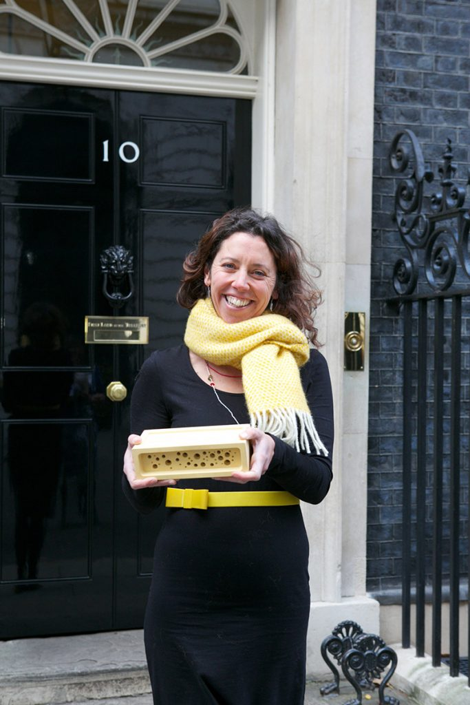 faye at number 10 downing street for small business saturday