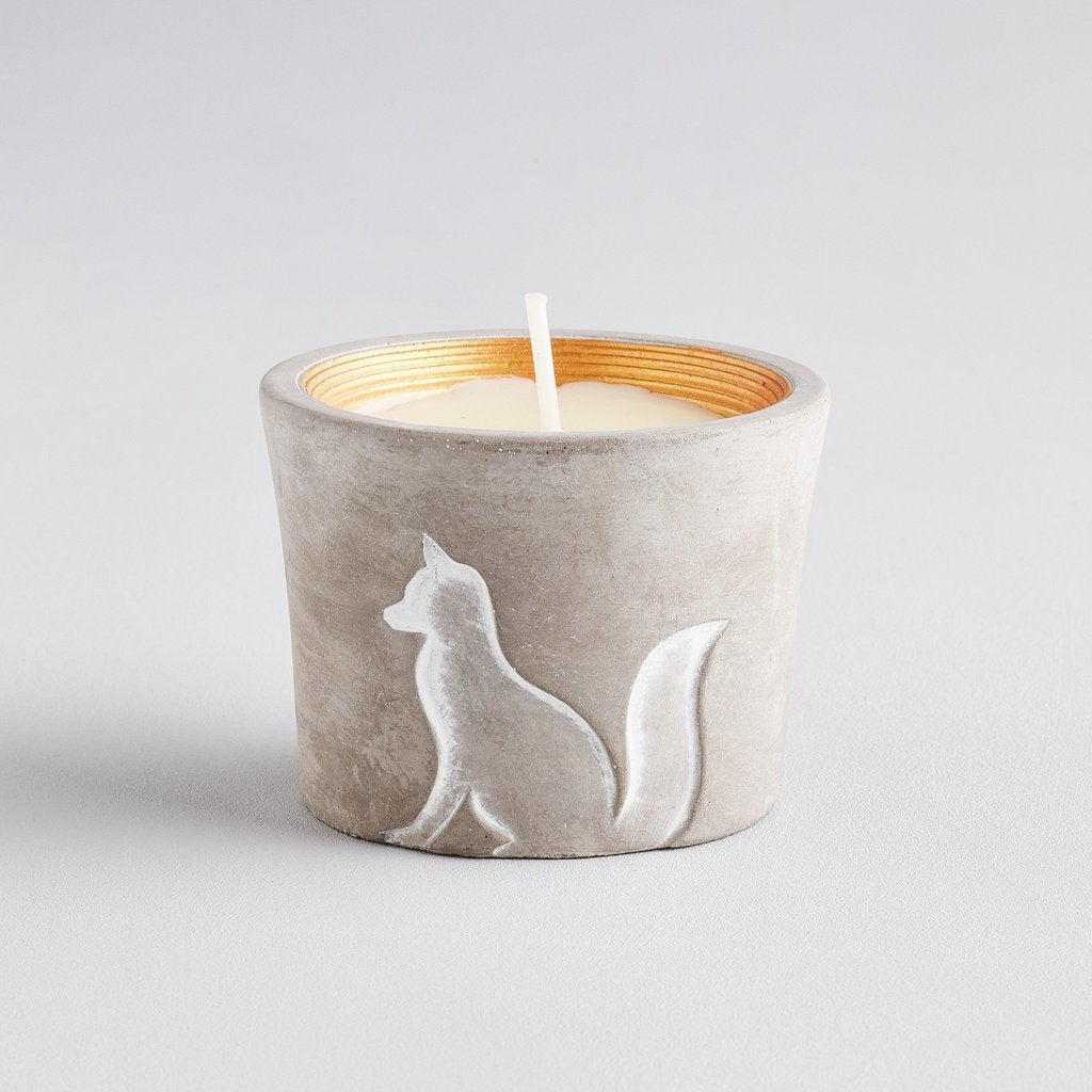 Fox wildlife candle from st eval candles wildlife collection