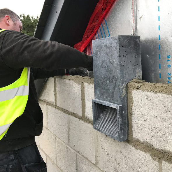 Bat block bat brick being installed into new build