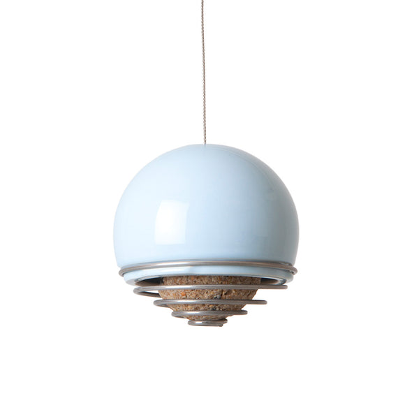 blue belle birdfeeder by green and blue