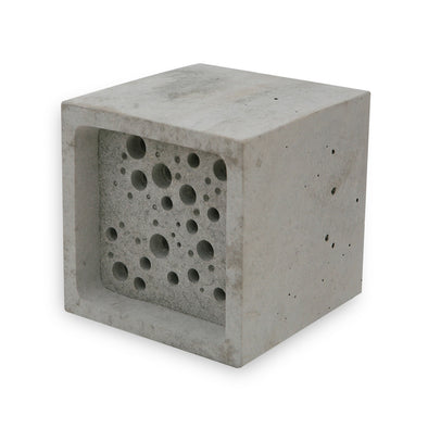 large bee block bee hotel by green and blue