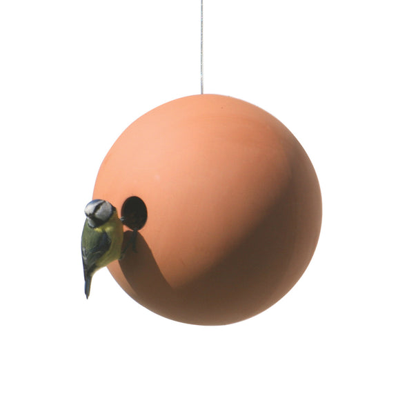 SUSPENDED BIRDBALL BIRDHOUSE