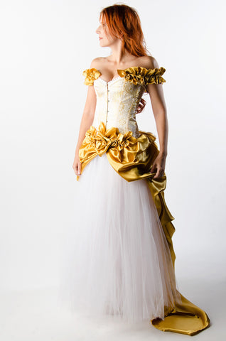 Golden Rose Dress