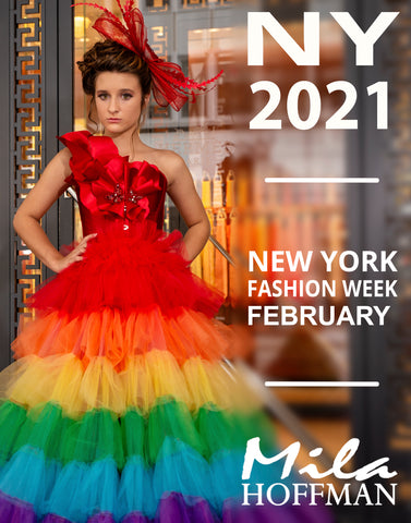 February 2021 NYFW Runway Show Custom Gown (Second Payment)
