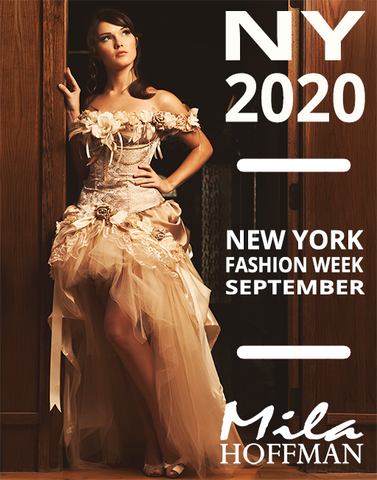 September 2020 NYFW Runway Show Custom Gown (Second Payment)