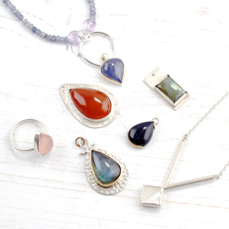 Stone setting in silver jewellery – new class options