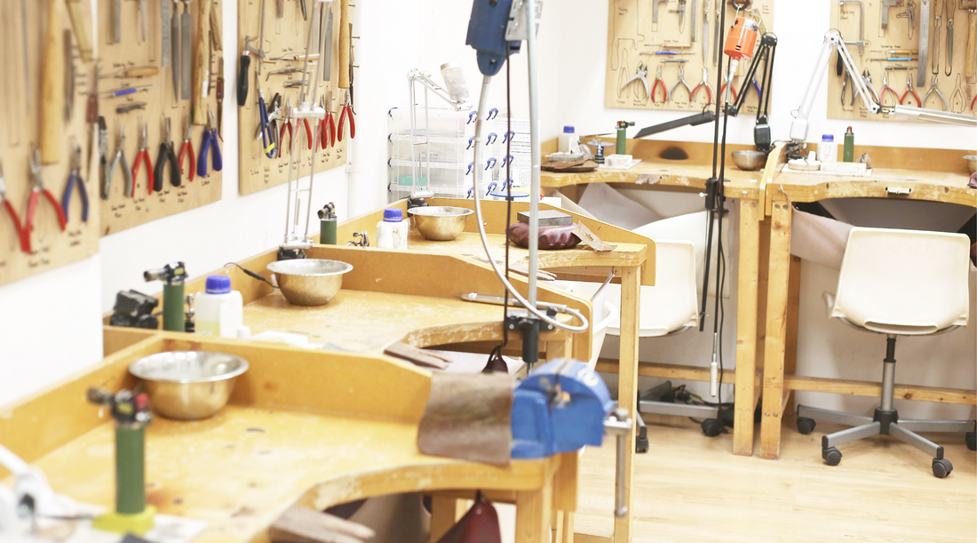 London Jewellery School open evening, Thursday 4th July 2019