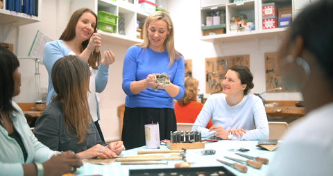 Sunday studio manager vacancy at the London Jewellery School