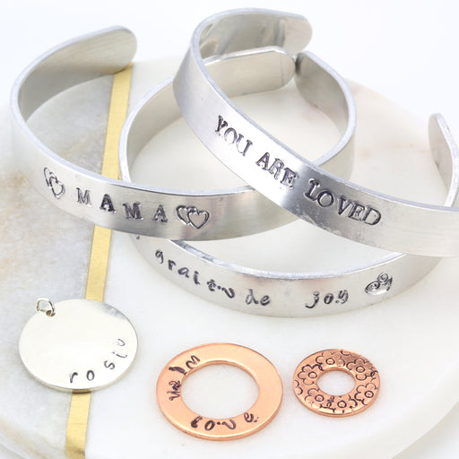 Hand Stamped Silver Jewellery
