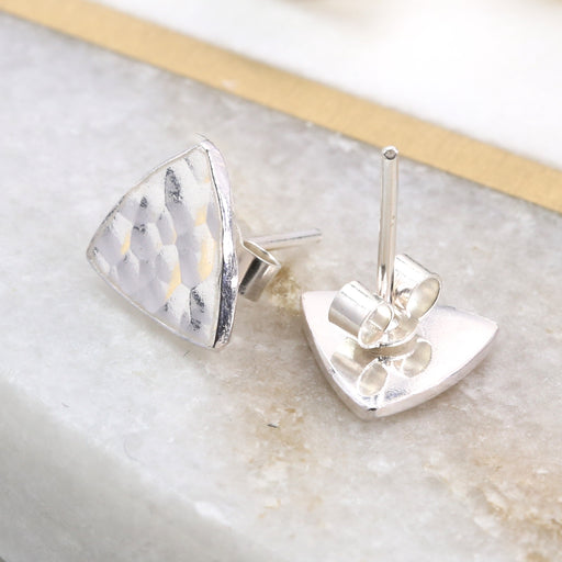 Make Silver Stud Earrings
