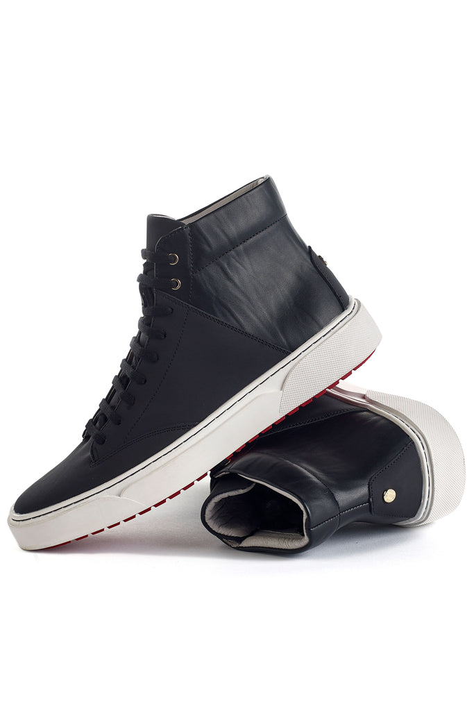 Culver (Black) w/ Red Luxe Sole