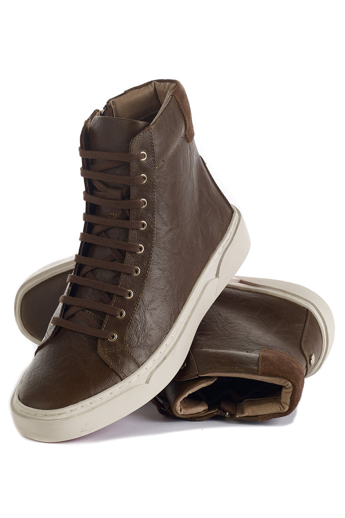 Hunter (Brown) w/ Red Luxe Sole
