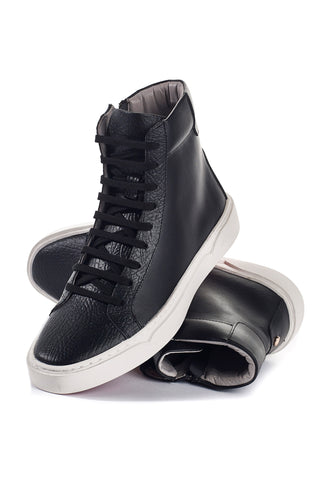 Hunter (Black) w/Red Luxe Sole
