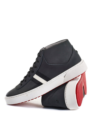 Annecy (Black) w/Red Luxe Sole