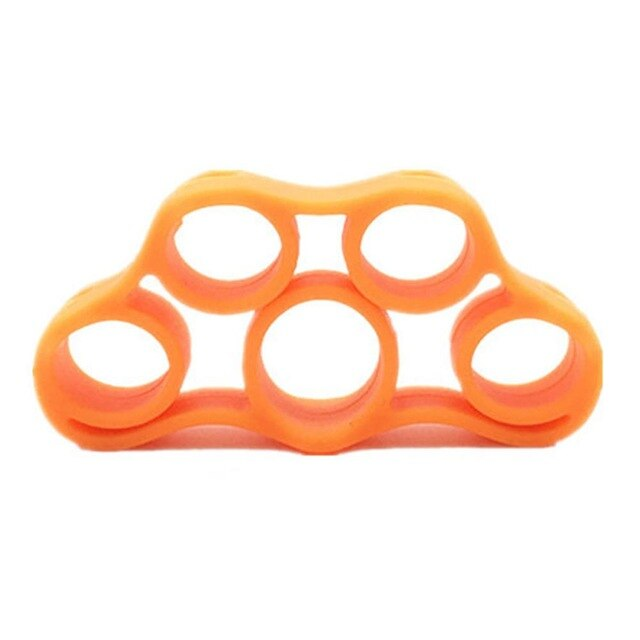 Silicone Finger Gripper Strength Trainer Resistance Band Hand Grip Wrist Yoga Stretcher Finger trainer Exercise Equipment