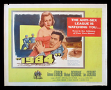1984 half sheet movie poster 1956 George Orwell