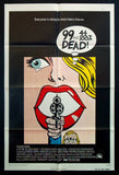 99 44/110% Dead one sheet 1974 pop art lichtenstein