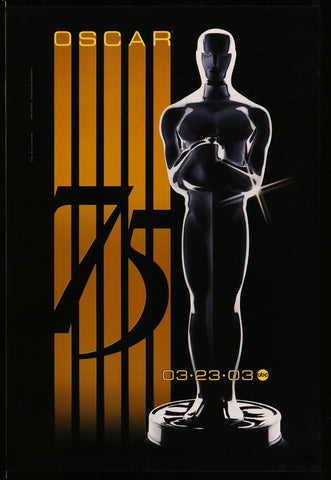 75th Academy Awards one sheet 2003