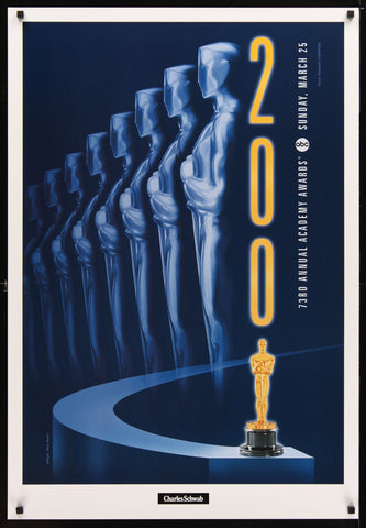 73rd Annual Academy Awards one-sheet