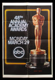 48th Annual Academy Awards one sheet 1976