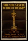 49th Annual Academy Awards one sheet 1977