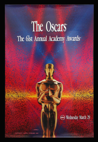 61st Annual Academy Awards poster 1989